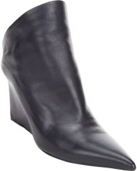 Balenciaga Glove Wedge Mules - Lyst