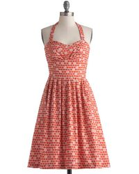 ModCloth Fruit Cart Dress - Lyst