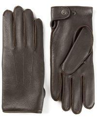 Lanvin Textured Gloves - Lyst
