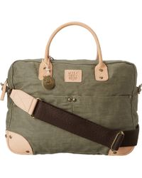 Will Leather Goods Wax Canvas Flight Bag - Lyst