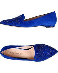 Carlo Pazolini Blue Ballet Flats - Lyst