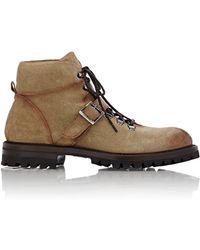 Elia Maurizi - Men's Buckle-strap Hiking Boots - Lyst