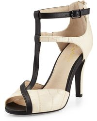 Seychelles Hideaway Ankle-wrap High-heel Sandals - Lyst