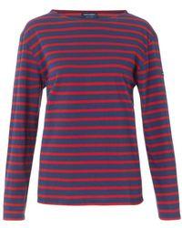 Saint James Minquiers 10 Striped Top - Lyst