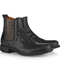 Fiorentini + Baker Etex Leather Chelsea Boots - Lyst