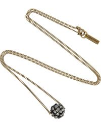 Isabel Marant Lee Crystal Necklace - Lyst
