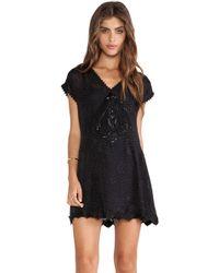 Anna Sui Anna'S Essential Jacquard Dress - Lyst