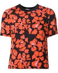 A.L.C. Red 'Joan' Top - Lyst