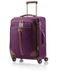 Hartmann - 'medium Journey' Expandable Spinner Suitcase - Purple - Lyst