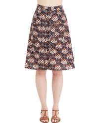 Mata Traders - Swap Meet Sweetheart Skirt In Pineapple - Lyst