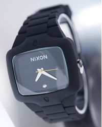 Nixon The Rubber Player Black Watch - Lyst