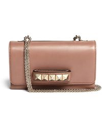 Valentino 'Rockstud Va Va Voom' Leather Shoulder Bag - Lyst