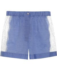 Raphaëlla Riboud - Fred Cotton Pyjama Shorts - Lyst