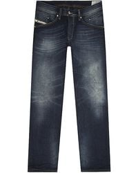 Diesel Belther Tapered Jeans - Lyst