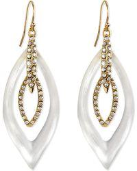 Alexis Bittar Jardin Mystere Lucite Crystal Earrings - Lyst