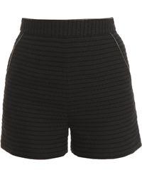 Tamara Mellon Woven Shorts - Lyst