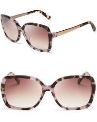 Kate Spade Darilynn Oversized Sunglasses - Lyst