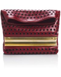 Tamara Mellon Dazzle With Grommets Small - Lyst