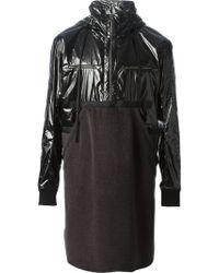 Damir Doma Hooded Panelled Jacket - Lyst