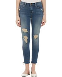 J Brand Fury Cropped Skinny Jeans - Lyst
