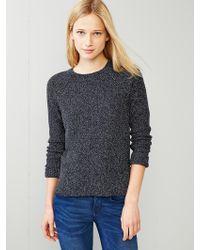 Gap Moss-Stitch Raglan Sweater - Lyst