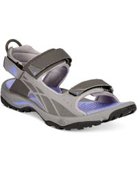 The North Face Women'S Storm Flat Sandals silver - Lyst