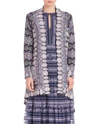 Nanette Lepore | Mystic Waterfall Cardigan | Lyst