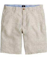 H&M Shorts In A Linen Blend - Lyst