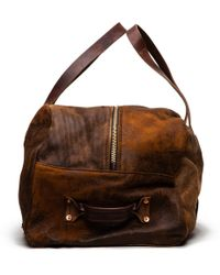 Billy Reid Large Distressed Duffle Bag - Lyst