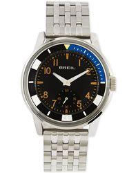 Breil - Orchestra Blackplated Bracelet Watch - Lyst