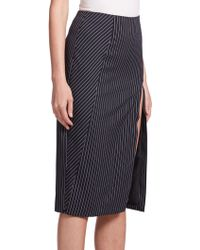 Altuzarra   Matisse Pinstripe Skirt   Lyst