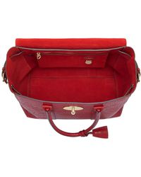 Mulberry - Large Bayswater Shrunken Leather Bag - Lyst