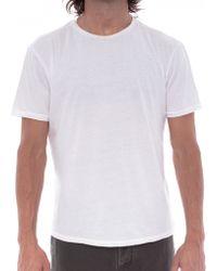 Faherty Brand Crew Neck T Shirt - Lyst