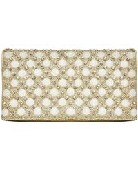 Alice + Olivia Pearl Clutch - Lyst