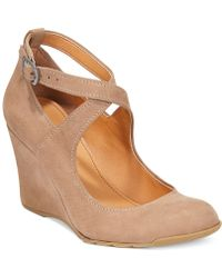 Kenneth Cole Reaction Womens Tell Lily More Wedges - Lyst