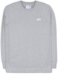 Asics - Reigning Champ Long Sleeve Crew Neck Sweater - Lyst