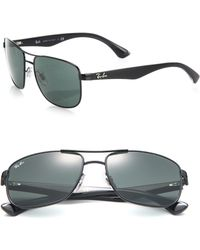 Ray-Ban | Square 57mm Sunglasses | Lyst