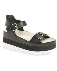 Ash 'Vera' Platform Sandal - Lyst