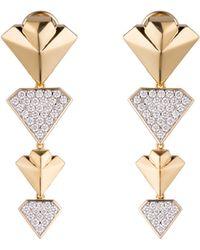 Diamonds Unleashed - #she'sbrilliant Diamond Statement Earrings - Lyst