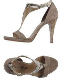 Emanuela Passeri Sandals - Lyst
