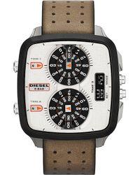 Diesel Black Hal Watch - Lyst