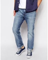 Esprit Straight Fit Jean in Light Stone Wash - Lyst