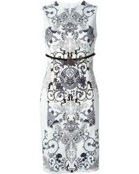 Versace Belted Dress - Lyst
