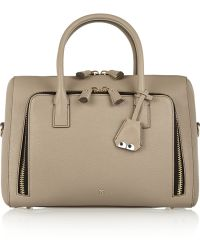 Anya Hindmarch Maxi Zip Textured-leather Tote - Lyst