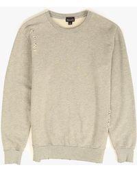 Drifter Brayden Sweater beige - Lyst