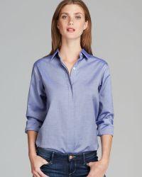 Theory Shirt Perfect Panama - Lyst