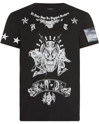 Givenchy - Tattoo Print Tee - Lyst