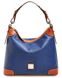 Dooney & Bourke Pebbled Leather Hobo - Lyst