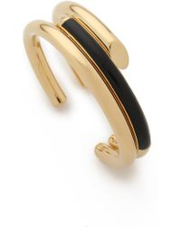 Maiyet | Empire Triple Wrap Bracelet With Horn - Gold | Lyst