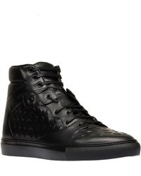 Balenciaga Monochrome High Sneakers - Lyst